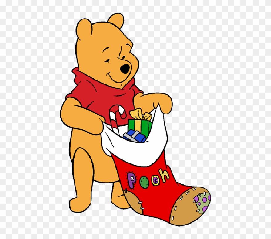 Winnie The Pooh Christmas.Christmas Winnie The Pooh Stocking Picture Winnie The Pooh