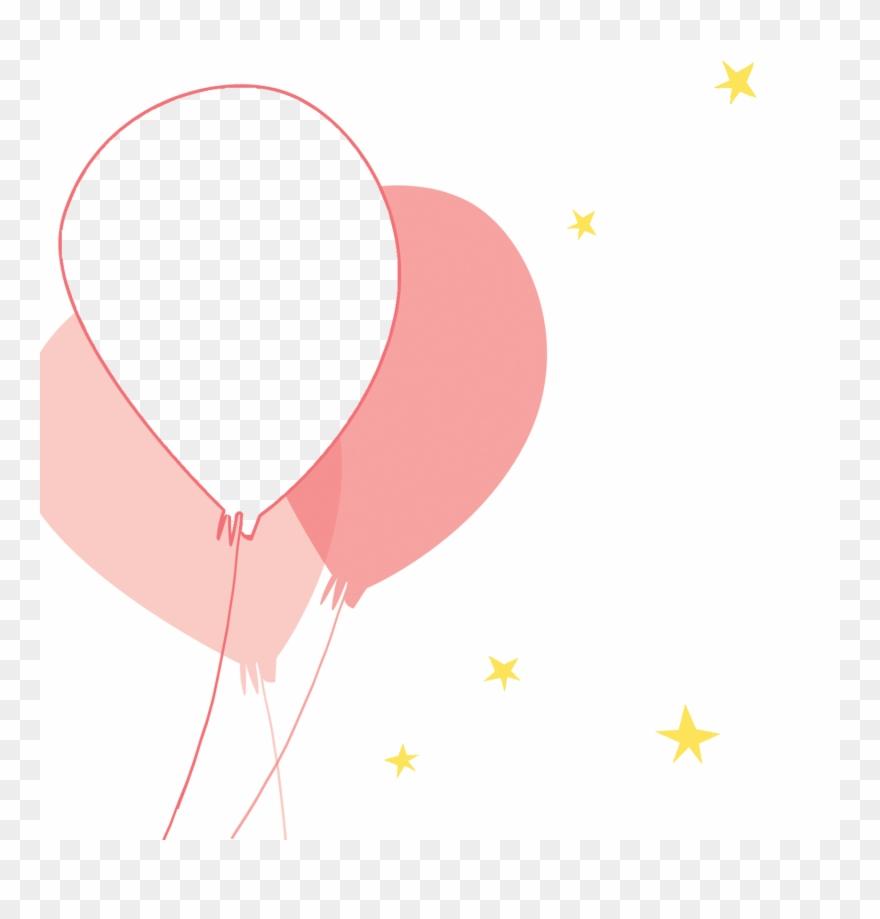 Pink Balloons Party Birthday Invitation Balloon Template