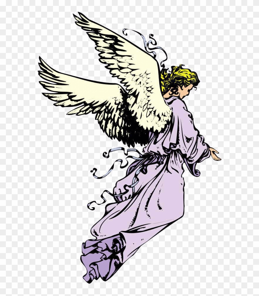 Guardian angel. Clipart angels shepherds star