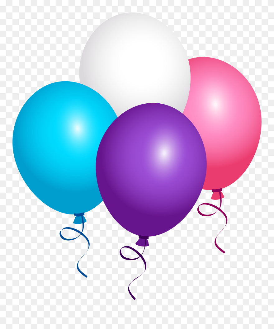 Balloon Box Flying Word Pictures Cute