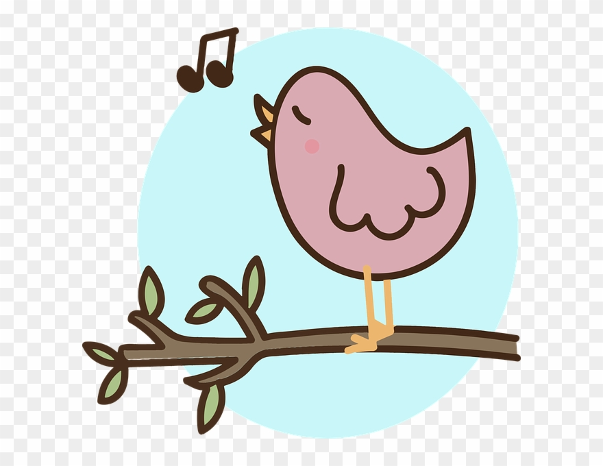 Draw A Singing Bird Clipart Full Size Clipart 1252452 Pinclipart