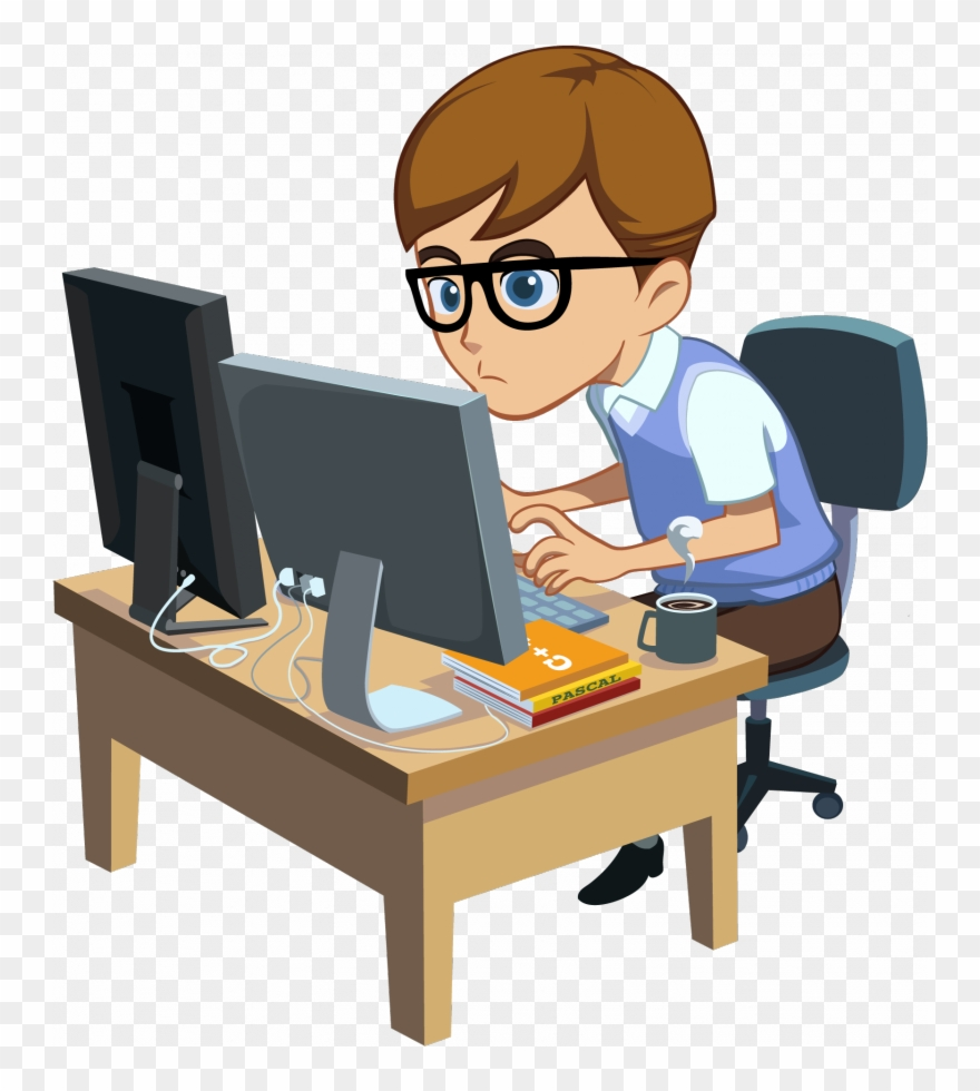 Programmer Png Clipart Computer Programming Software Cartoon