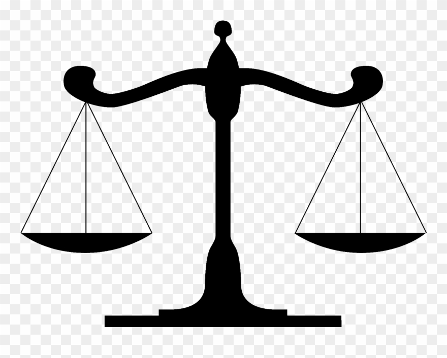 Scale Clipart Law Firm - Scales Of Justice - Png Download