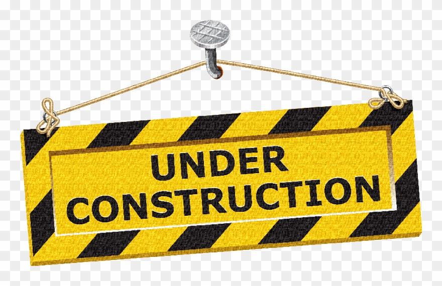 Acessórios Construction Theme, Under Construction, - Under Construction Tape Png Clipart