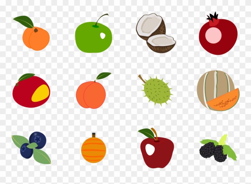 Computer Icons Fruit Encapsulated Postscript Thumbnail - Transparent Fruit Icons Clipart