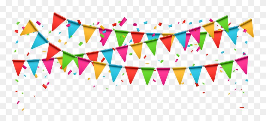 Banner colorful. Celebration clip art party