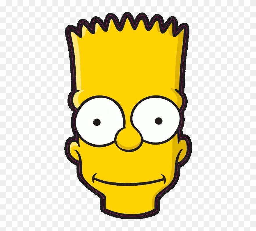 Imagenes Png Tumblr Bart Buscar Con Google Bart Simpson Front Face