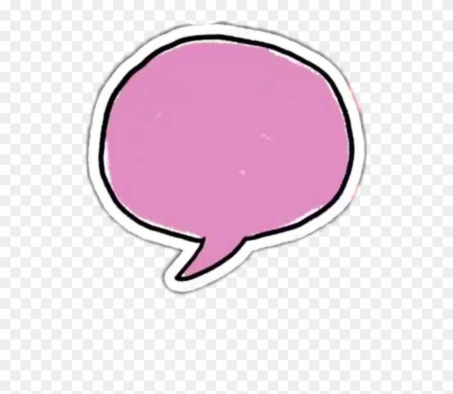 Thought bubble pink. Speech clipart heart lilac