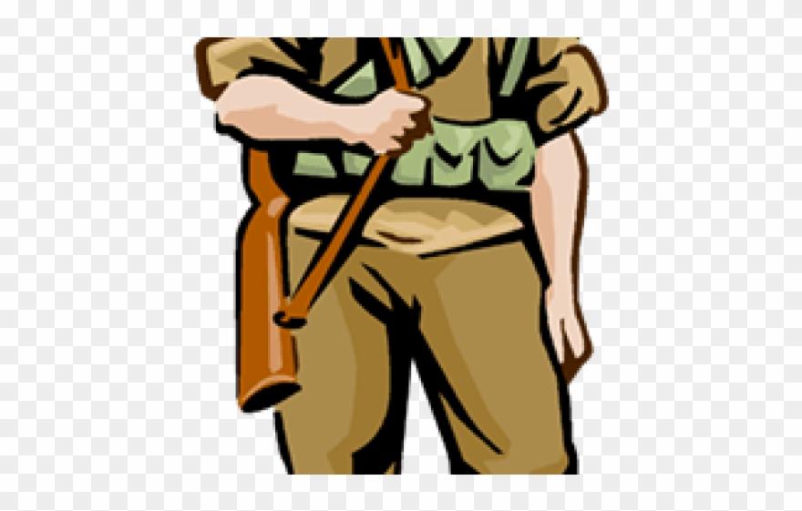 US Army Soldier Cartoon Vector Clipart - FriendlyStock