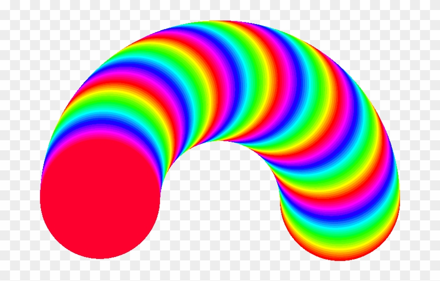 Rainbow Clipart Animation Rainbow Worm Gif Png Download 1271134 Pinclipart
