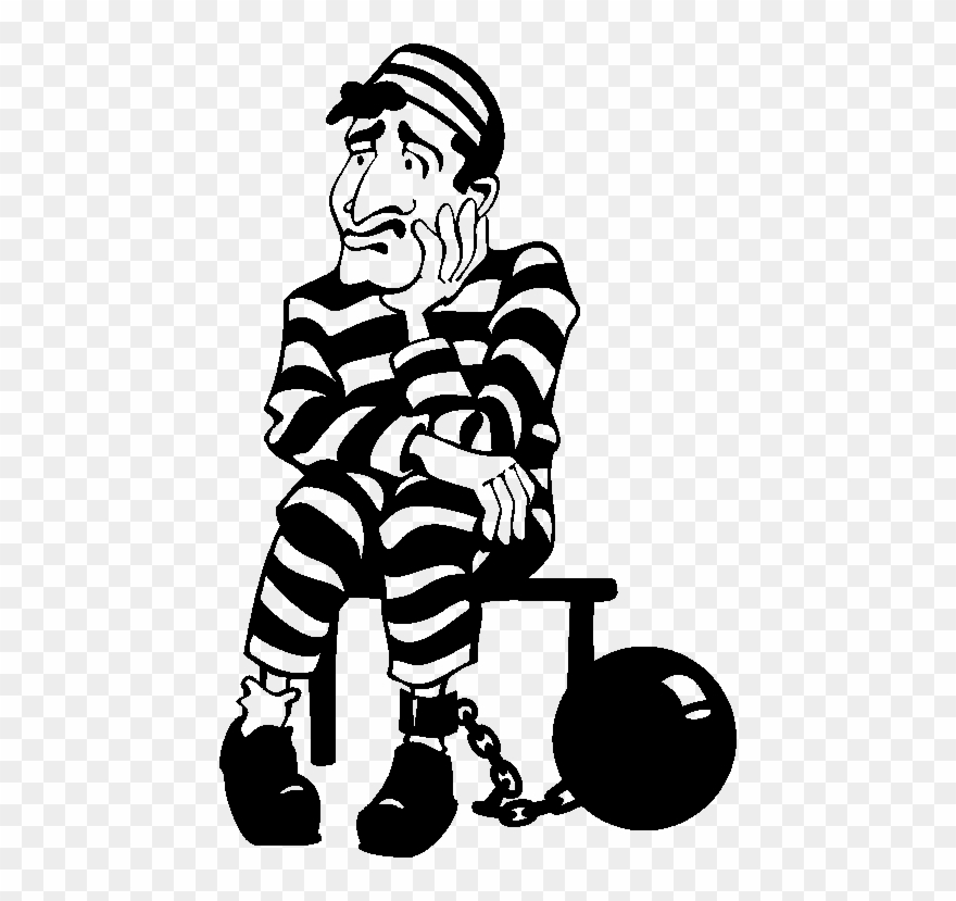 Trial Cliparts Clipartsjail - Joseph In Jail Clipart - Free Transparent PNG  Clipart Images Download