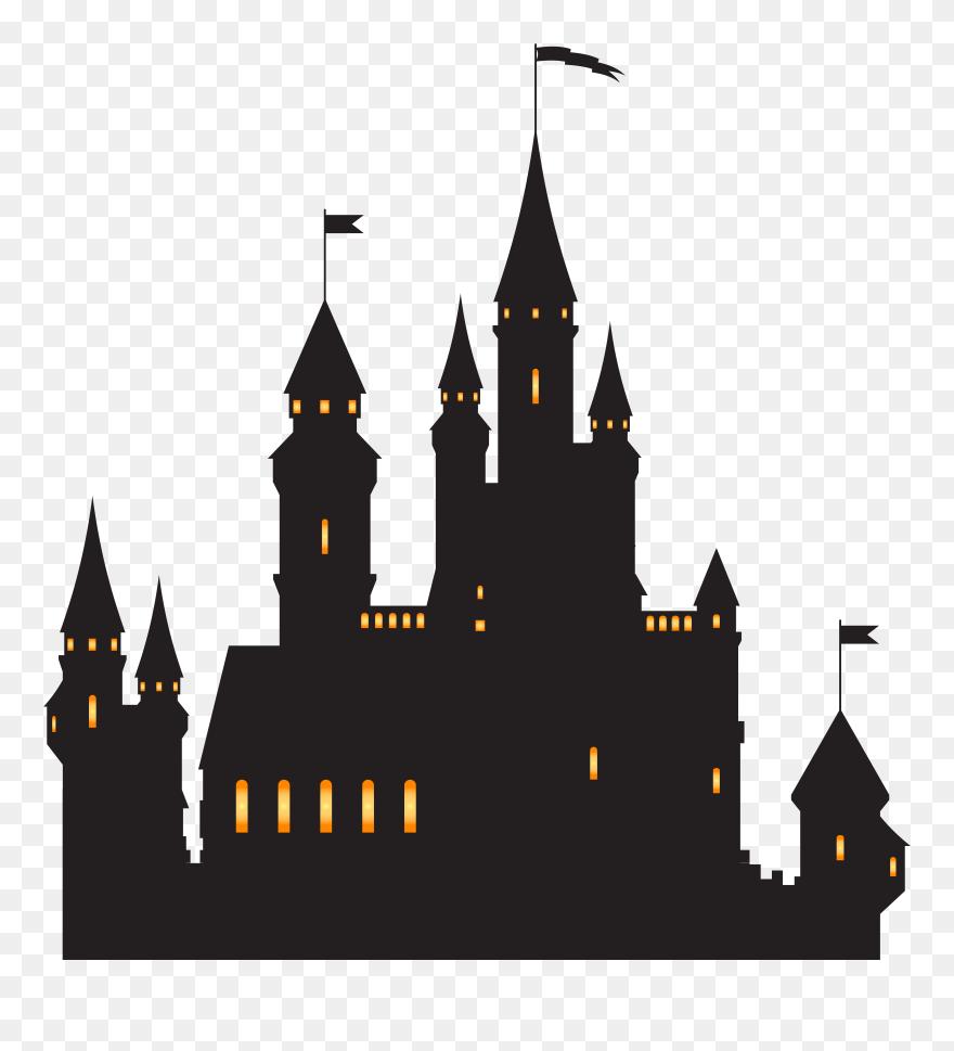 Castle Silhouette Png Clip Ar Magic Tree House Castle Transparent