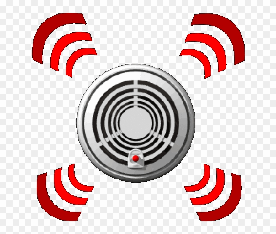 Detection Clipart Alarming Fire Alarm Clip Art Smoke Detector