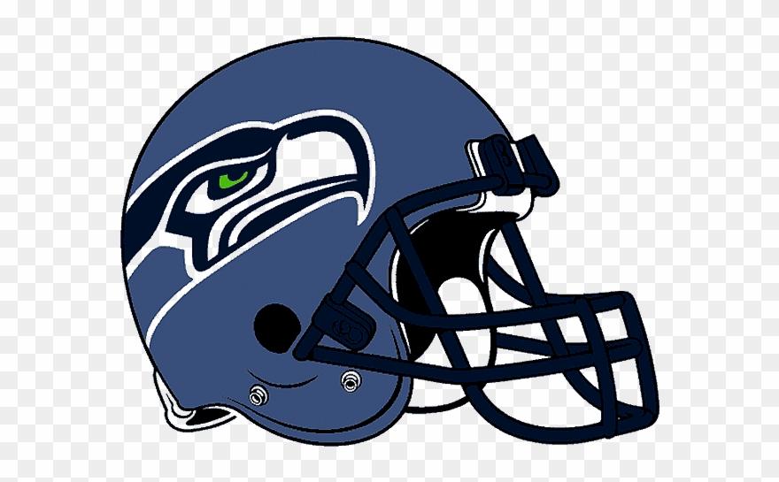 Seahawks Helmet Drawing Clipart Seattle Seahawks New Blue