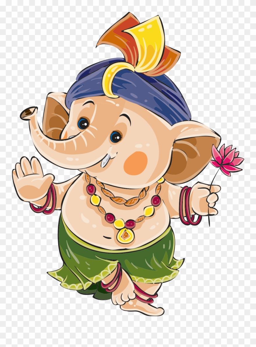 Cute Ganesha Png Hd Cute Ganesha Png Image Free Download Cute Happy Ganesh Chaturthi Clipart 1281625 Pinclipart
