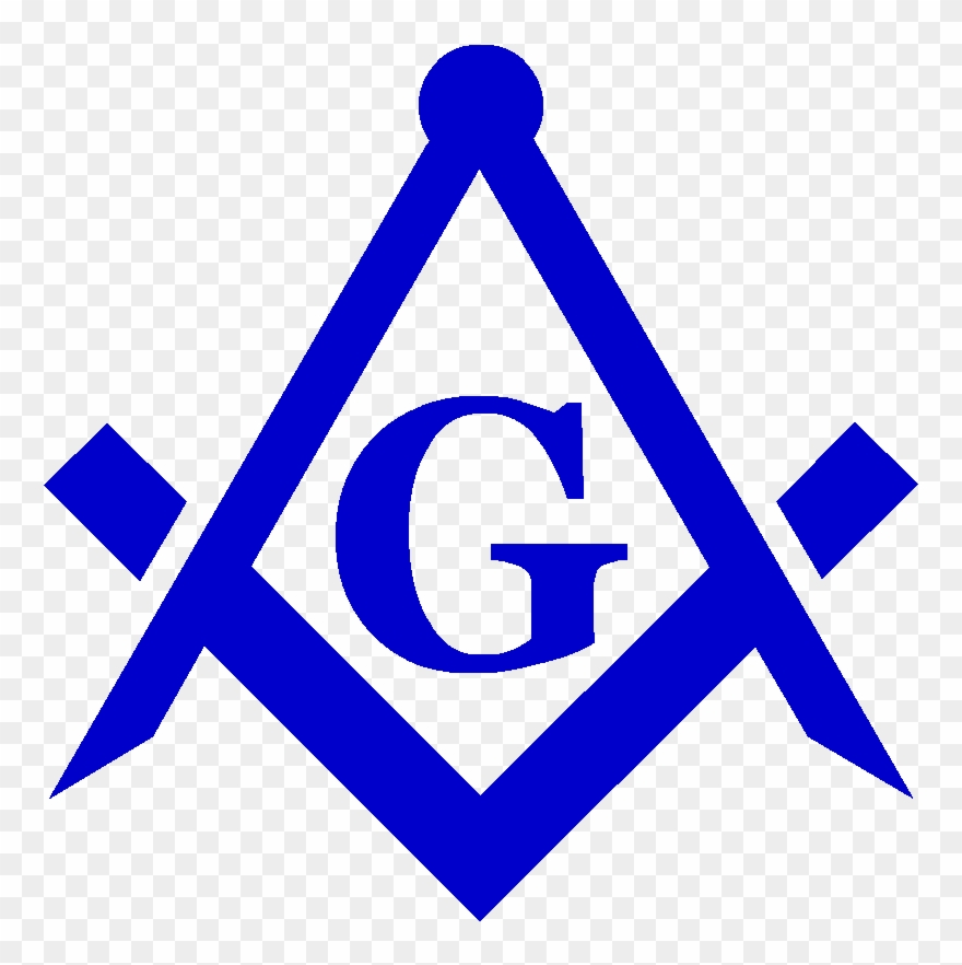 Compass blue. Masonic clipart square and