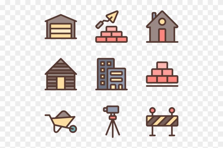 Construction Icons - Construction Clipart
