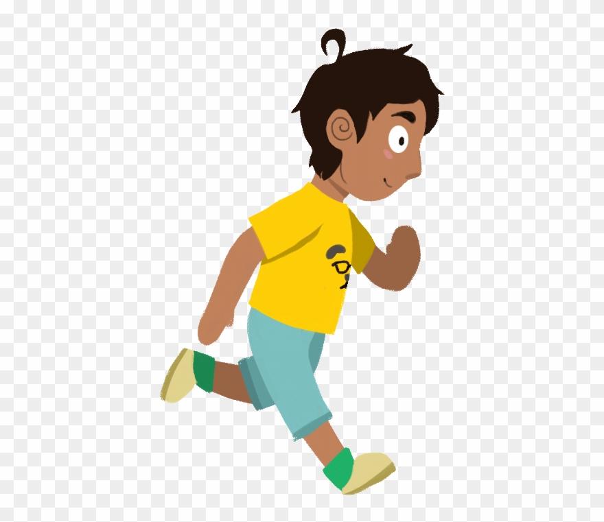Animation People Running Gif