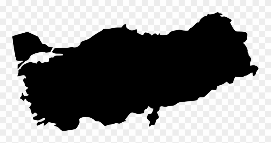 Turkey Vector Png Clip Free Library - Turkey Map Vector Png ...