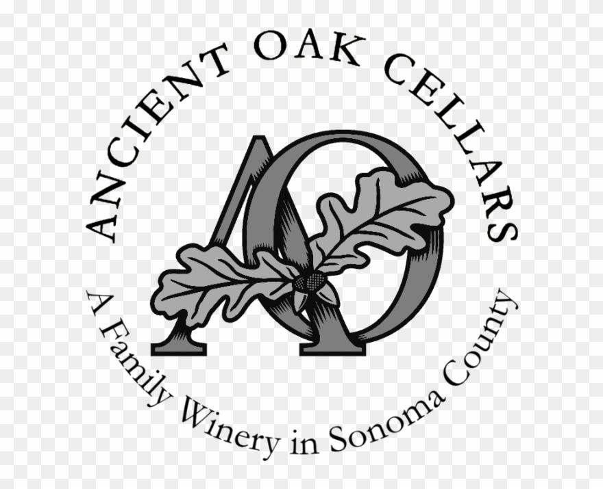 Ao With Oak Leaves Logo Bw