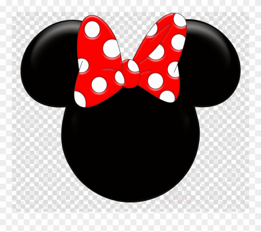 Mickey mouse head minnie. Clipart