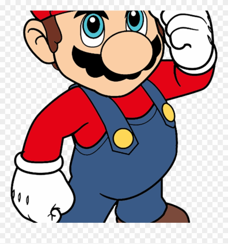 Super Mario Clipart Free Clipart Super Mario Svg Free Png Download 135781 Pinclipart