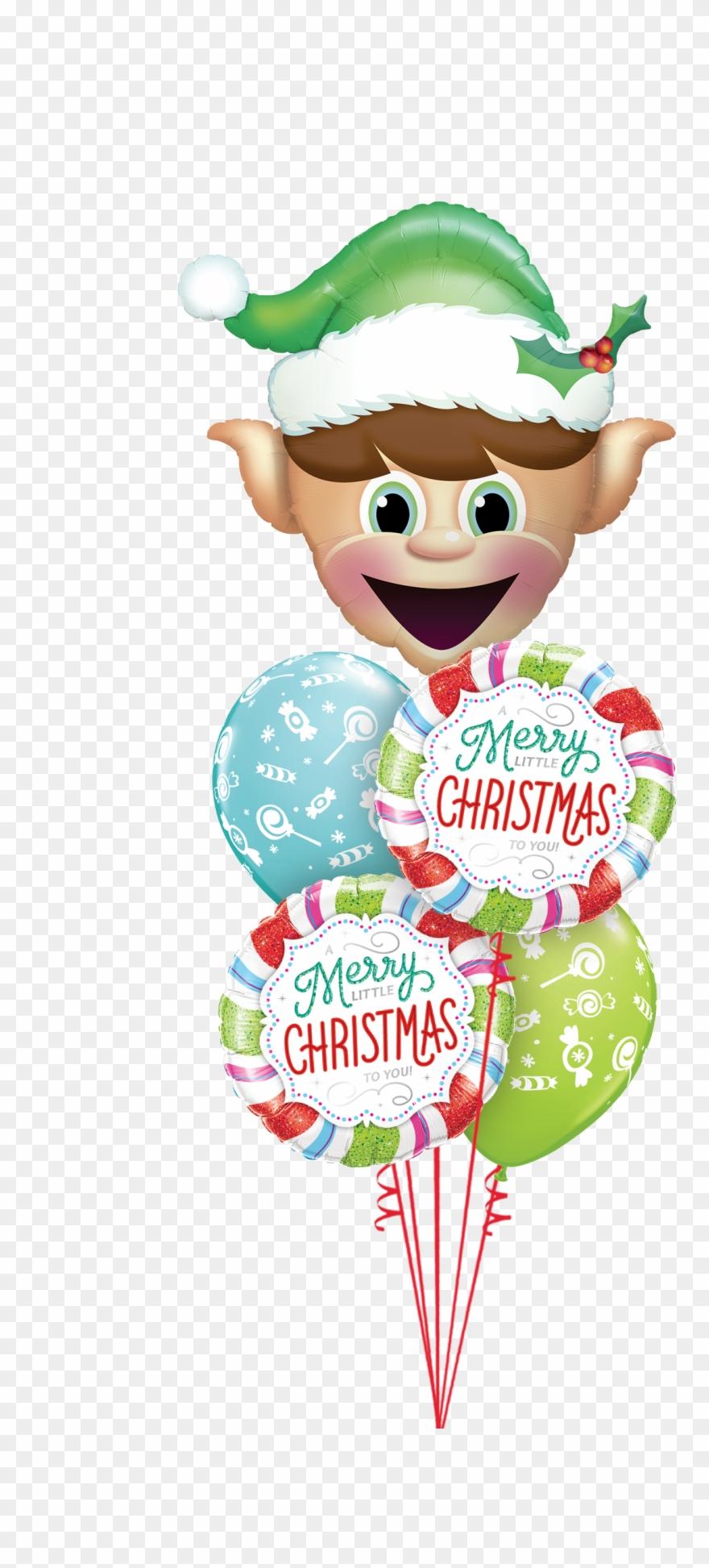 Christmas Balloons Merry Little Christmas To You Balloon