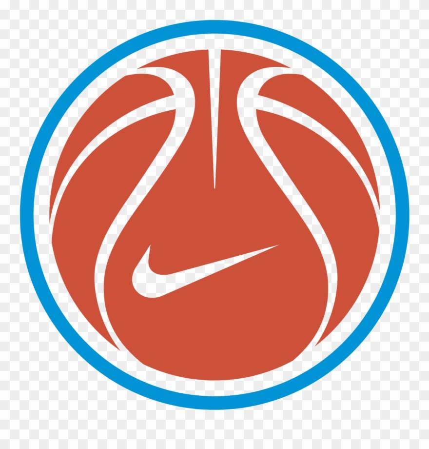 Nike basketball. Logo vector free silhouette