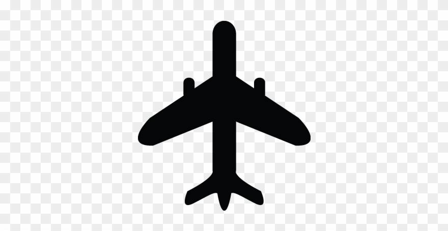 White Airplane Clipart Png