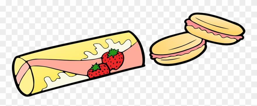 Healthy Food Cartoon 29, Buy Clip Art - Strawberry Snack