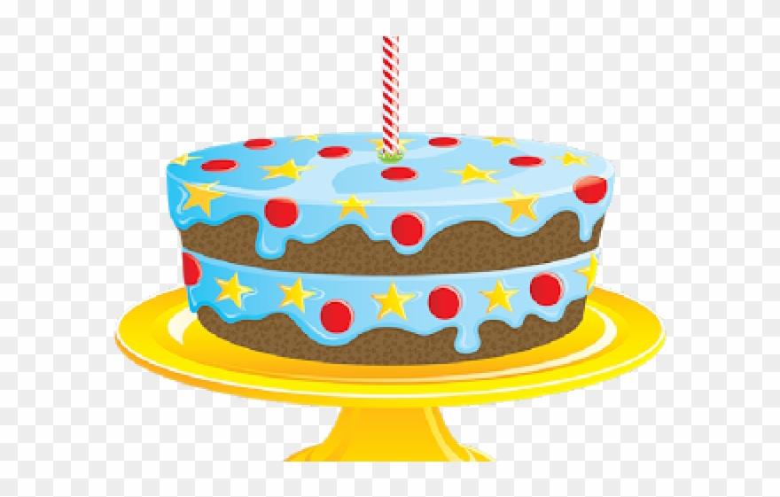 Cake transparent background. Dessert clipart birthday no