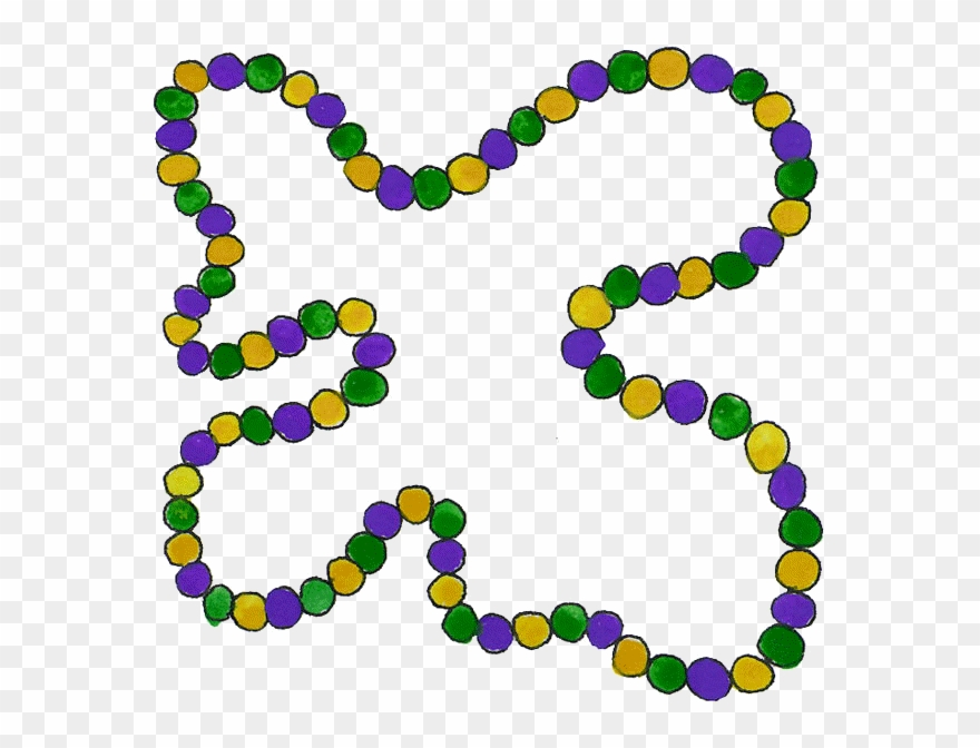 Mardi Gras Beads Clipart Bead Png Download 1315623 Pinclipart