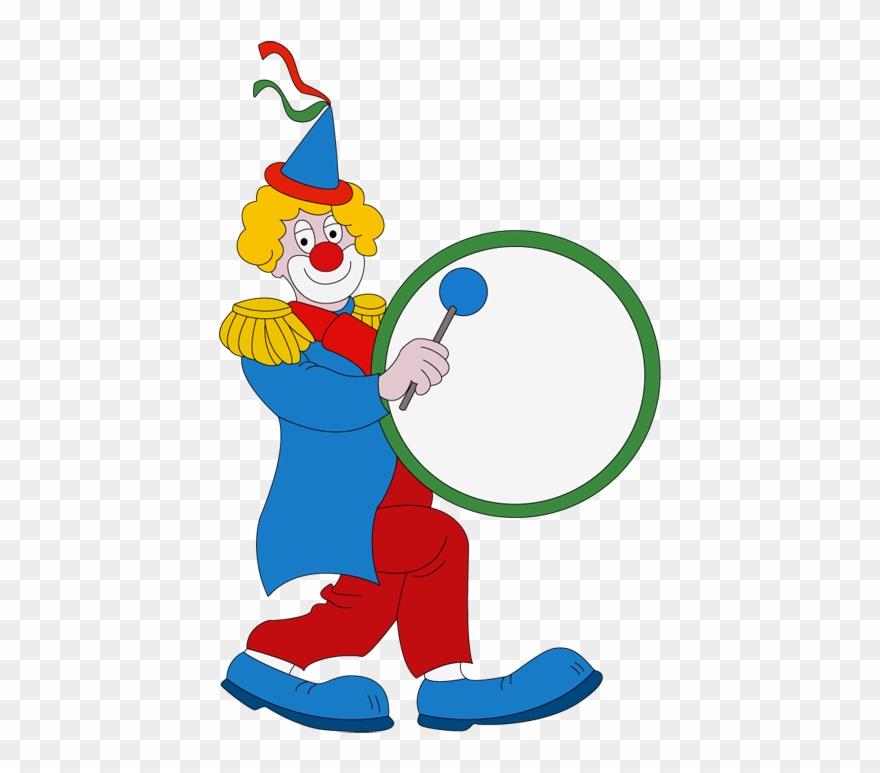 Während Des Jahres Sieht Jedes Kind Sie Nur Im Zirkus Clown