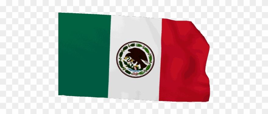 Mexican Flag Waving Gif - Gif Bandera De México Clipart
