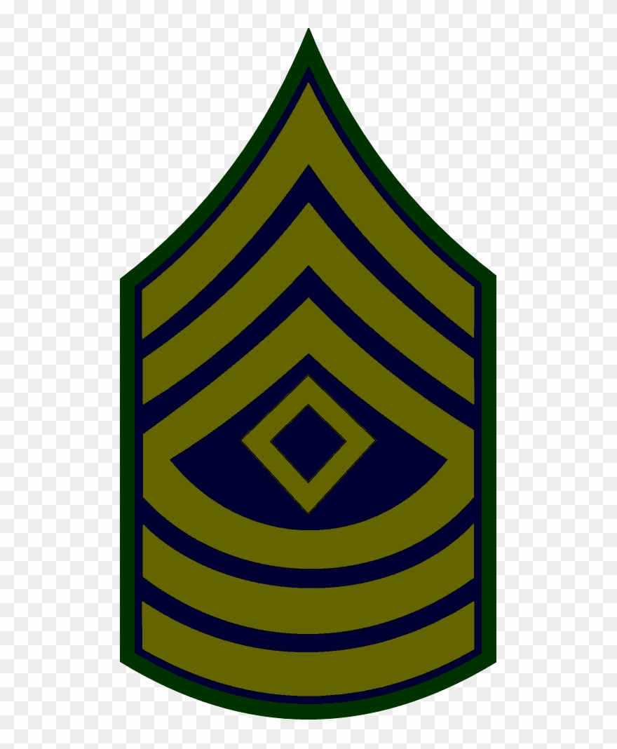 Free Download Master Sergeant Insignia Clipart Master