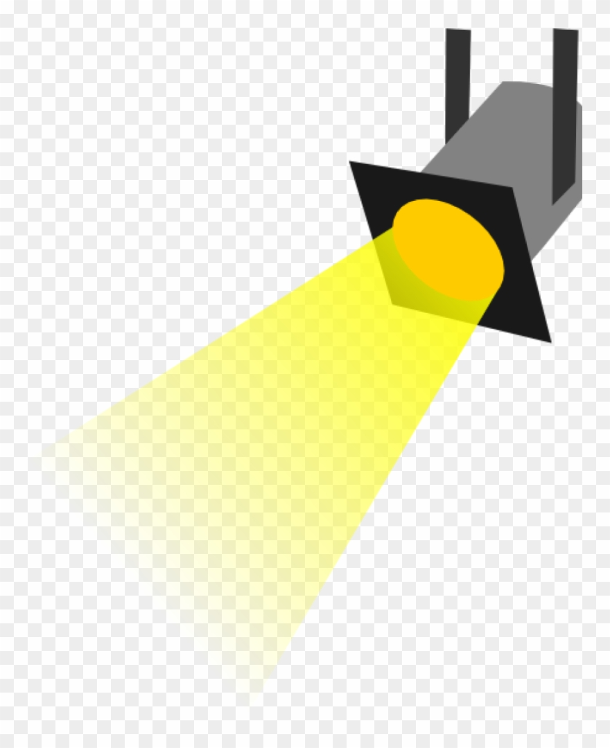 Spotlight silhouette. Clipart free clip art