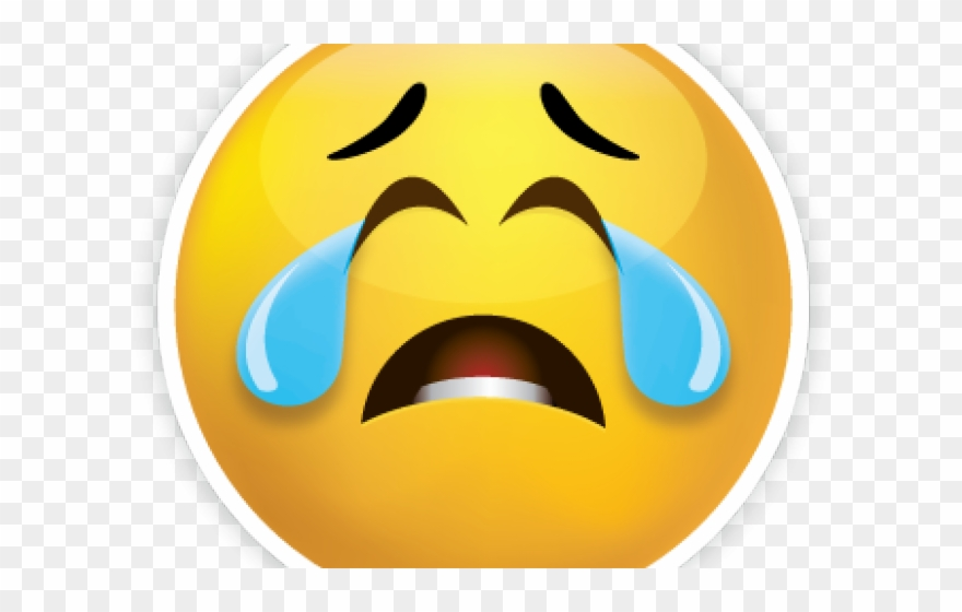 Sad Emoji Clipart Disappointment - Sad Face - Png Download