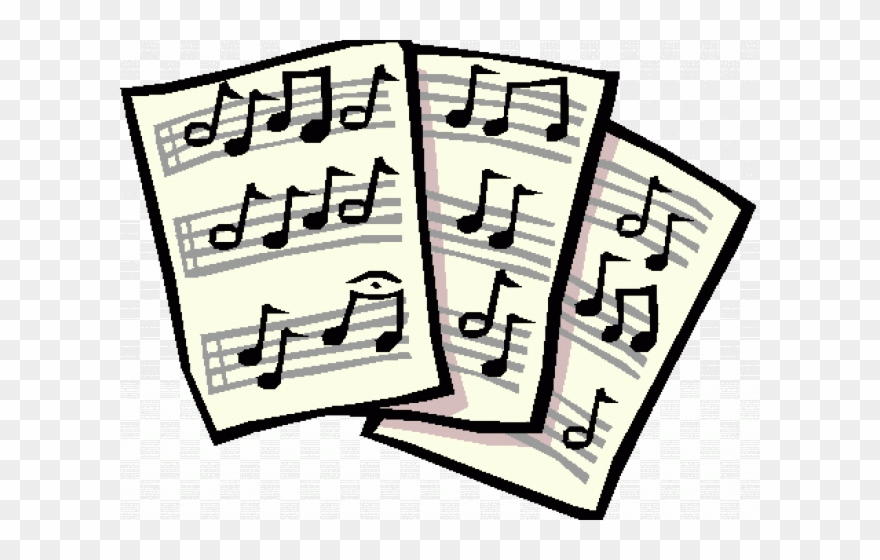 sheet music pictures free download clip art - music sheet clip art - png  download - full size clipart (#1329047) - pinclipart  pinclipart.