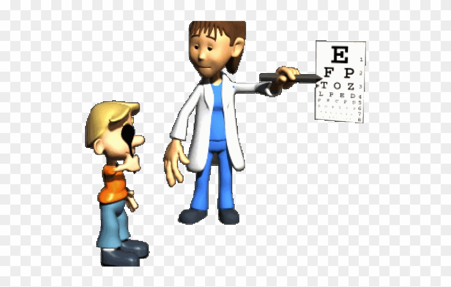 Animation Clipart Nurse Eye Exam Animated Gif Png Download 1329802 Pinclipart