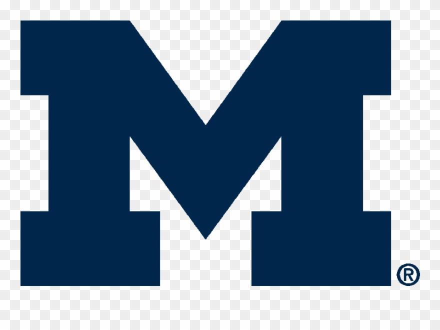 U Of M - Metro Health University Of Michigan Logo Clipart