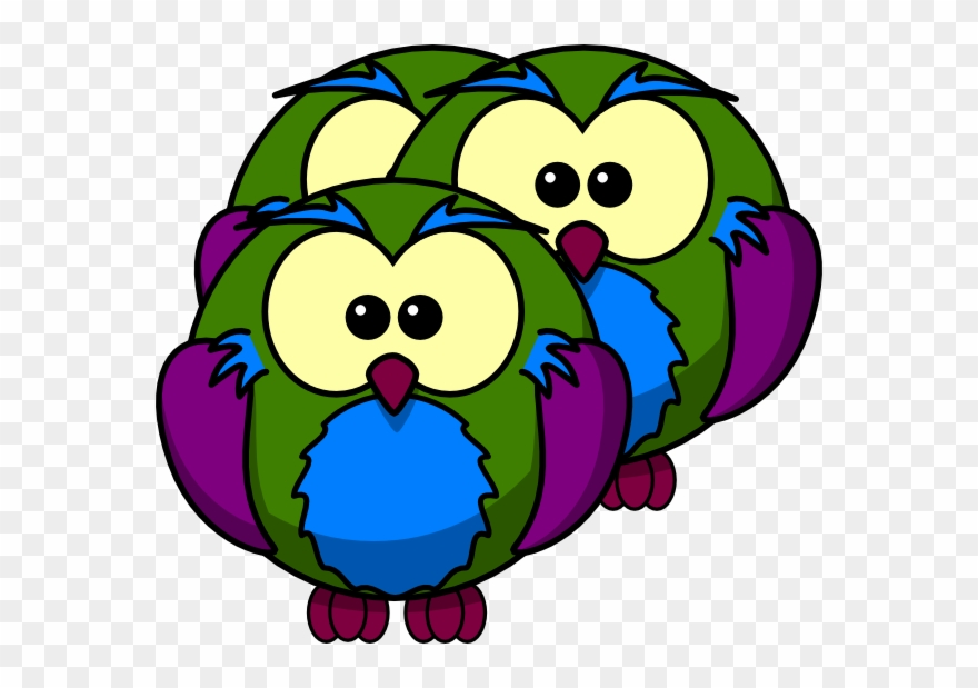 How To Set Use Multicolour Owl Svg Vector Clipart (#1342701