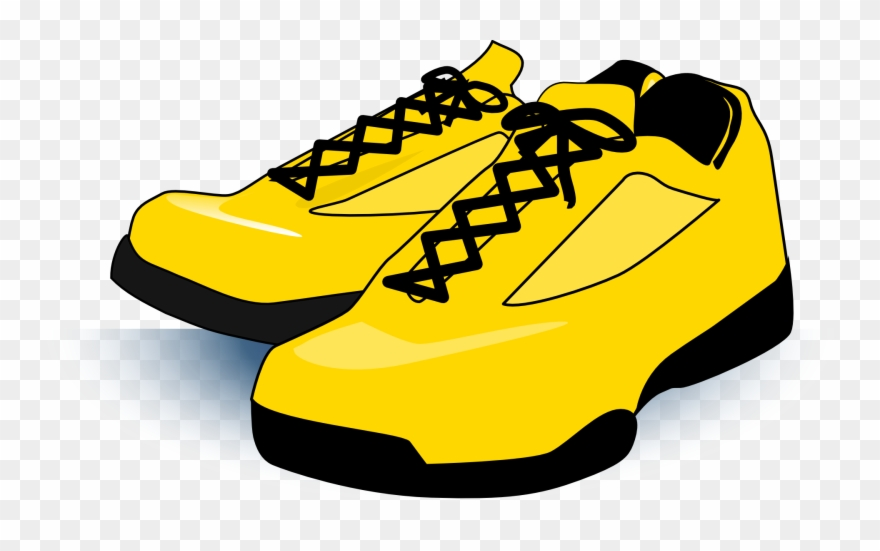eb6a7e942e5f Gym Shoes Clipart Youth Club - Gold Shoe Clip Art - Png Download ...