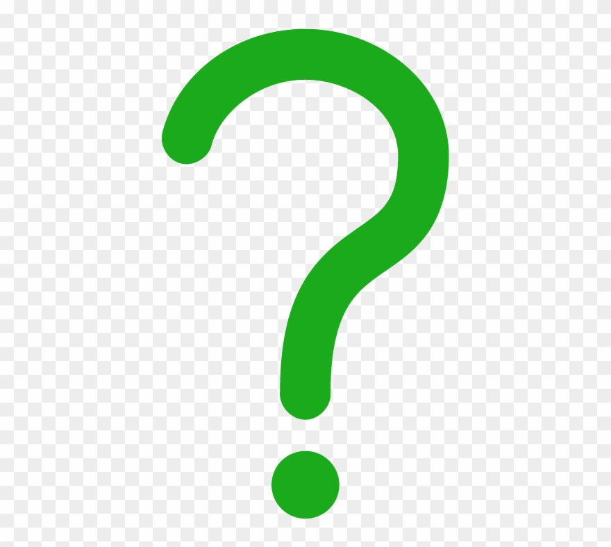 Icon Of A Question Mark - Question Mark Symbol Green ...