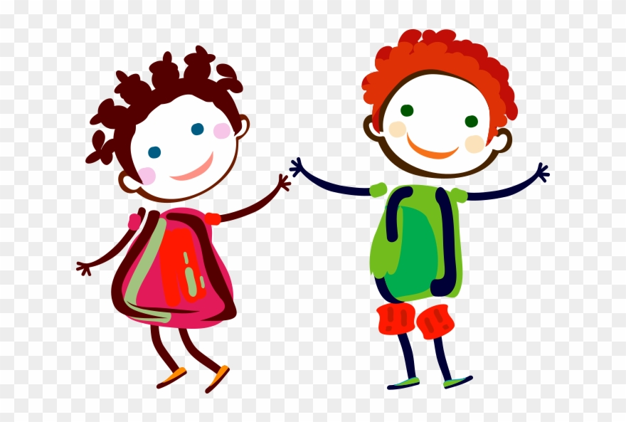 Clipart Dans Eden Boya çizim çocuklar Happy Couples Cartoon Png