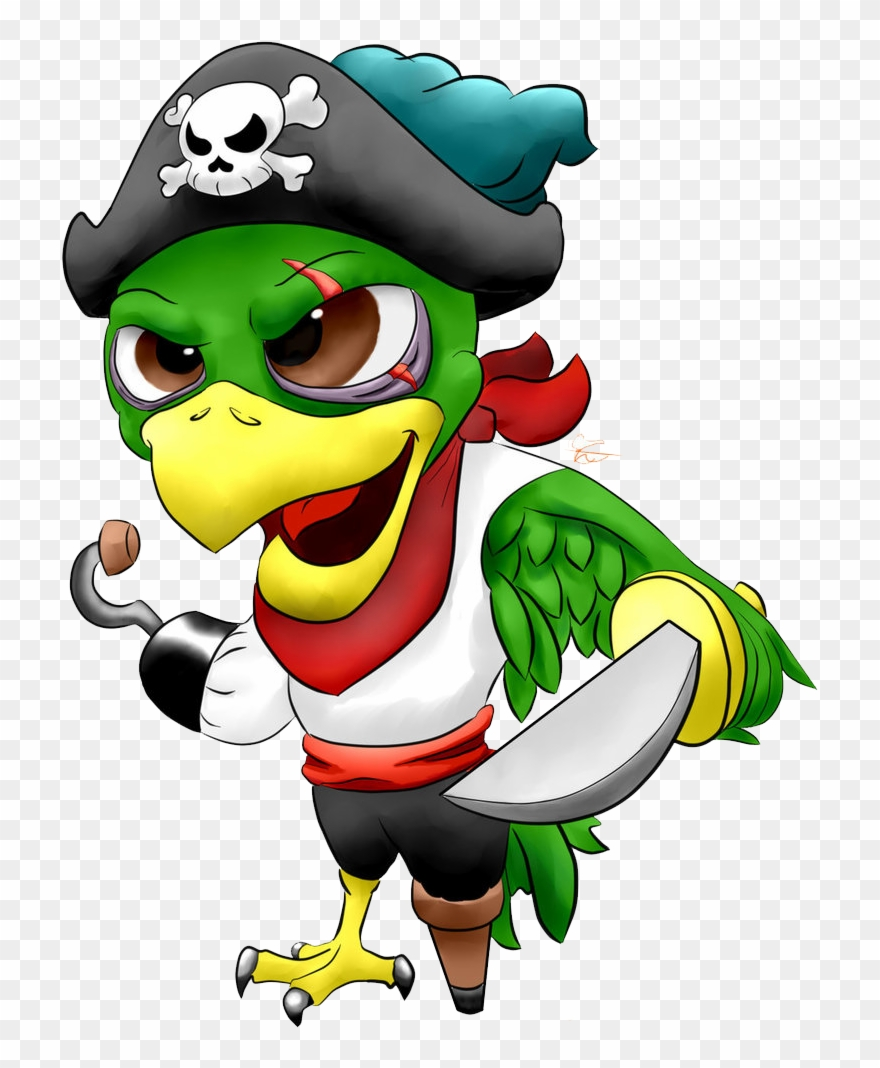 Pirate Parrot Png Image Pirate Parrot Png Clipart