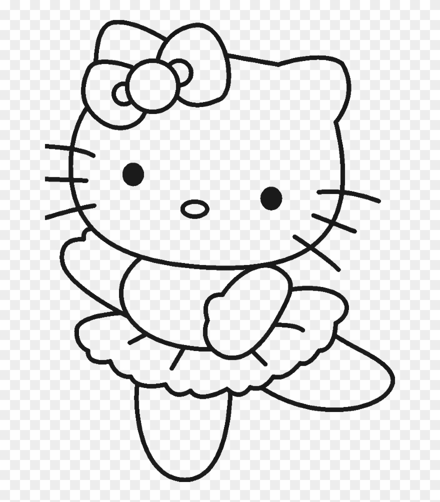 Color Pages Of Hello Kitty Hello Kitty Coloring Pages