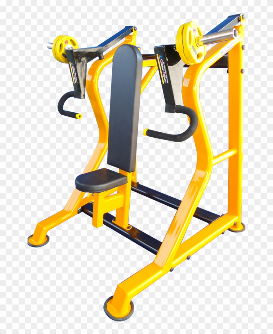 And Fitness Commercial Incline Chest Press Free Exercise Equipment Clipart 1365031 Pinclipart
