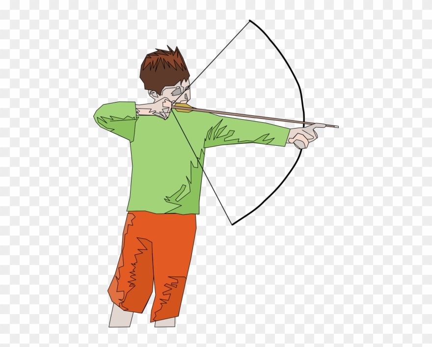 218800,request - Motion Of An Arrow From Bow Clipart ...