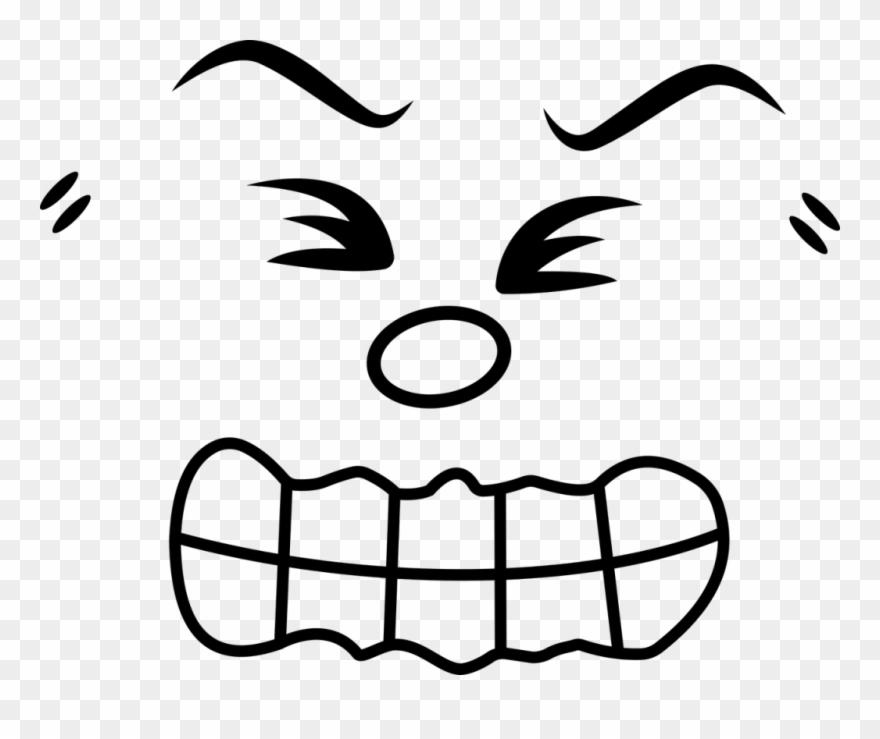 Angry Cartoon Face 26 Buy Clip Art Pain Face Png Transparent Png 1371487 Pinclipart