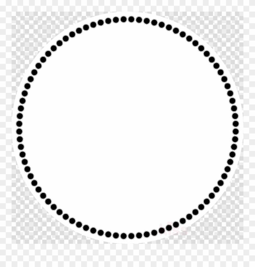 Circle Design Transparent Background Clipart Clip Art - Circle Of Dots Clipart - Png Download